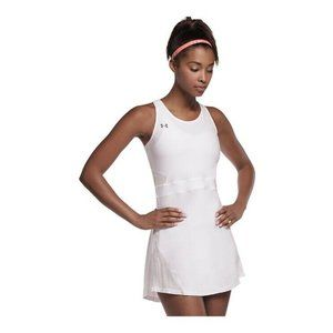 UNDER ARMOUR UA Tennis Center Court White Dress